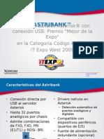 02 Introduccion a Interfaces de Telefonia & Arquitectura de Astribank