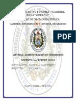Investigacion Servidores