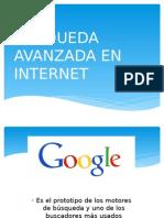 Busqueda Avanzada en Internet
