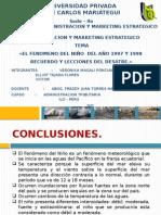 Fenomeno Del Niño Caratula-conclusion y Recomendacion