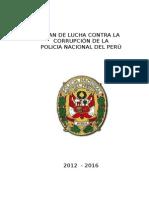 Plan de Lucha Contra La Corrupción PNP 2012-2016