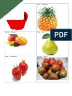 24 frutas