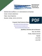 Proyecto Final Comercio Electronico