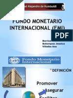 Presentación Fondo Monetario Internacional