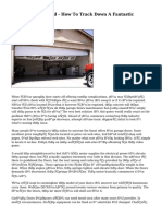 Garage Doors Mend - How To Track Down A Fantastic Contractor