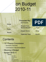 Union Budget 2010