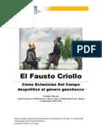 El Fausto Criollo