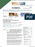 07-10-15 TPP Afianzará al TLCAN como zona exportadora. SRE