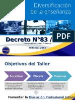 Taller Decreto 83