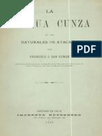 1890. La Lengua Cunza, San Roman