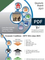 Rockwall ISD Demographics Report 2015 - 2nd Quarter