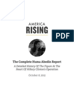 The Complete Huma Abedin Report
