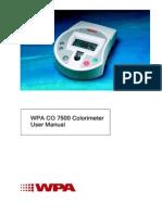 Colorimeter Fisherbrand fb