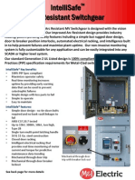 M&I - Electric Gen 2 AR Switchgear Datasheet