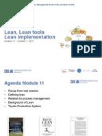 Module 11 Lean