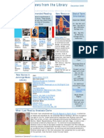 Newsletter December 2008