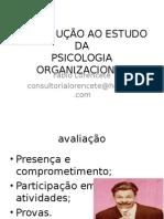 Introdução à psicologia organizacional