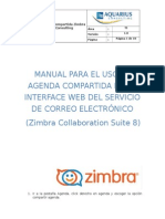 Manual de Agenda Compartida Zimbra