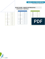 Ginecologia - Banco de Preguntas 1 - Claves