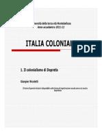 Il Colonialismo Di Depretis, Gianpier Nicoletti