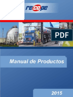 Manual Productos RECOPE 2015