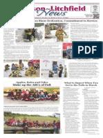 Hudson~Litchfield News 10-9-2015