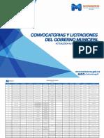 Convocatorias y Licitaciones del Municipio de Matamoros Septiembre 2015