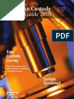 European Custody Market Guide 2010