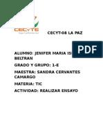 Cecyt 08 Jenifer