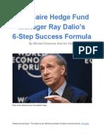 Ray Dalio 6 Step Success Formula