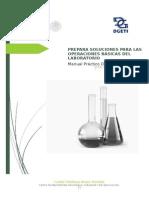 Manual de prepara soluciones para las operaciones básicas del laboratorio clinico