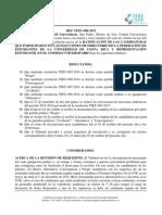 RES TEEU-006-2015 Ratificación de Partidos Oficial Elecciones Federativas 2015