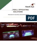 Volleyball Officiating Solution Hawk-eye