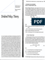Dividend Policy Theory