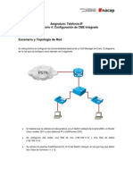 Lab 4 Configuración CME Integrado