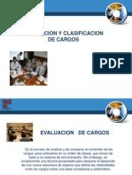 Evaluacion y Clasificacion de Cargos