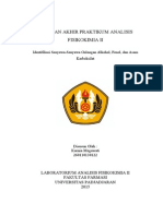 Identifikasi Senyawa Golongan Alkohol Fenol Dan Asam Karboksilat