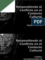 Respondiendo Al Conflicto en Contexto Cultural