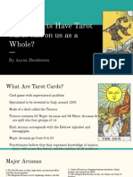 tarot card presentation
