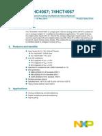 Datasheet 74HC_HCT4067