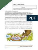 Guía- roma-3°