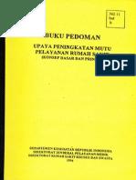 Buku Pedoman Mutu RS