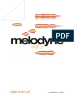 Melodyne Manual