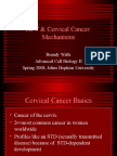 9 HPV and Cervical Mechanisms Johns Hopkins B Wells