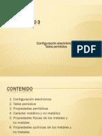 Capitulo 3. Configuración Electrónica y Propiedades Periódicas