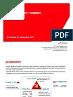 Sosialisasi PWay Reborn 23.09.2015