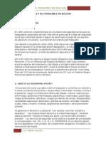 Ley de Pensiones en Bolivia