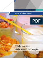 manual de elaboracion de yogurt