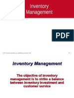 Inventory Control Adjusted
