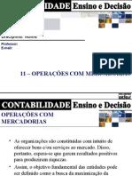 CAP 11 Operacoes Mercadorias